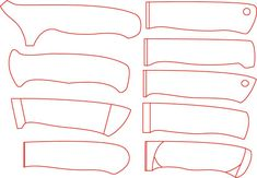Cool Knives, Knives And Swords, Knife Filework, Arming Sword, Knife Drawing, Friction Folder, Armas Ninja, Knife Template, Benchmade Knives