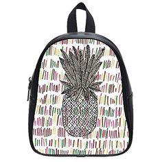 08db1cddf0 Pineapple Print School Backpack Fashionable Backpacks For School, School  Backpacks, Cute Pineapple, Pineapple