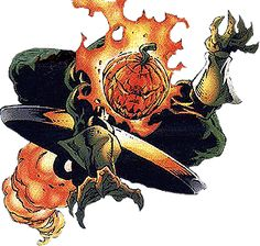 Jack O'Lantern.  Needs to be used more than what Marvel has been doing with him.