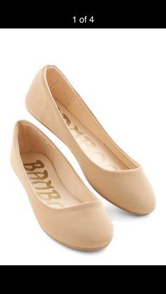 Peach slip on shoes