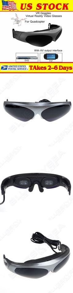 3D TV Glasses and Accessories: Fpv Vr Virtual Reality Glasses Head-Mounted Viedo Goggles For Drone Helicopter -> BUY IT NOW ONLY: $119.69 on eBay!