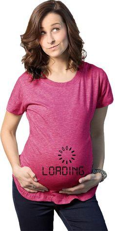 b7033f5d Baby Loading Maternity Tshirt. Pregnancy TipsFunny Pregnancy ShirtsPregnancy  ...