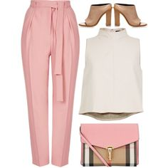 A fashion look from October 2015 featuring TIBI tops, Topshop capris and TIBI shoes. Browse and shop related looks. Classy Outfits, Chic Outfits, Spring Outfits, Fashion Outfits, Womens Fashion, Grunge Outfits, Fashion Shoes, Mode Hijab, Professional Outfits