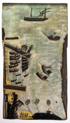 The Infinite Art Tournament, Round One: Wallis v. Artist Painting, Artist Inspiration, Artist Gallery, American Folk Art, Naive Art, Painting, Infinite Art, British Art, Outsider Art
