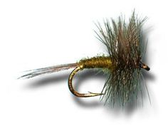 Blue Winged Olive Fly Fishing Fly - Size 10 - 3 Pack