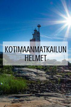 Aina ei tarvitse lähteä merta edemmäs reissuun. Suomi on jumalaisen kaunis maa, jolla on paljon tarjottavaa myös meille suomalaisille. Tämä taulu on vinkkilista jokaiselle kotimaanmatkailua ja suloista Suomea rakastavalle. Maa, Traveling, Movies, Movie Posters, Viajes, Films, Film Poster, Cinema, Movie