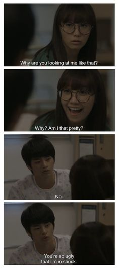awww... XD #Kdrama Seo In Guk and Eunji in Reply 1997