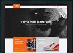 25 Attractive Free PSD Web Templates
