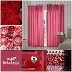 Para os apaixonados por vermelho, diversas opções de coordenação!