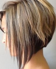 Pictures : Asymmetrical Bob Haircuts - Layered Asymmetrical Bob Haircut