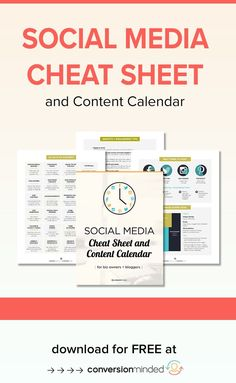 If you want to use social media to grow your business, but are a little stumped with what to do and when, this social media cheat sheet is for you! Facebook Content, Social Media Content, Social Media Tips, Facebook Marketing, Online Marketing, Social Media Marketing, Content Marketing, Digital Marketing, Business Calendar