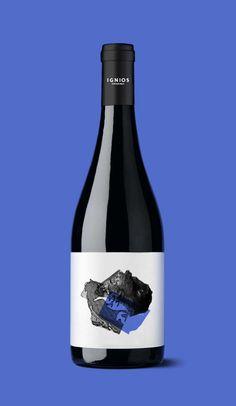 Ignios Orígenes_Baboso Negro // identity & packaging // www.dailosperez.com #taninotanino #vinosmaximum
