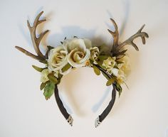 antler headband diy - Google Search
