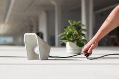 Cluzeau on Behance Concrete Light, Concrete Lamp, Concrete Design, Cemento Portland, Concrete Projects, Lamp Light, Lighting Design, Furniture Design, Lights