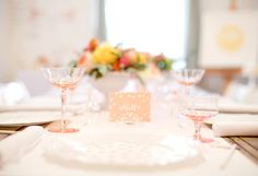 Cute Blush Pink Baby Shower for a Girl or Bridal Shower Decor - perfect for a bridal shower brunch or bridal shower tea party