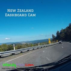 Every road in New Zealand has an amazing view - we didn't want to miss a thing so took hundreds of dashcam pictures as we toured both north and south islands @purenewzealand