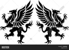 Find Alkonost mythical bird with a sword and a scroll in her hand sitting on an oak Stock Images in HD and millions of other royalty-free stock photos, illustrations, and vectors in the Shutterstock collection. Mythical Birds, Mythical Creatures, Griffon Tattoo, Greif Tattoo, Unique Tattoos, Small Tattoos, Tattoos Costas, Tattoo No Peito, Ancient Myths