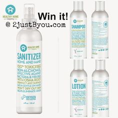 Win a natural, 100% non-toxic trio by Healthy Home Company. Ends 6/6 (US)