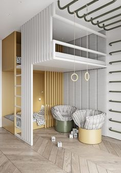 Conçu pour une jeune famille au cœur de Moscou, cet appartement coloré de 230 m2 est incroyablement riche en textures et en style. #chambre #chambresdenfants #decor #designdinterieurs #decoration #decordechambre #inspirationdeschambres