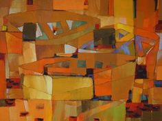"Saatchi Art Artist Vadim Puyandaev; Painting, ""Boats #12"" #art"
