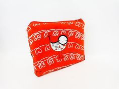 Small Cotton Pouch Small Wallet Cosmetic Bag by handjstarcreations, $9.50 #handmade #Etsy