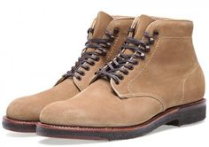Alden Blucher Boot Tan