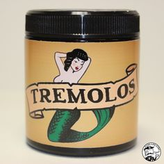 She's back, and now in a glass jar. #tremolos #tremolospomade www.pomade.com