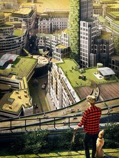 urban farming - this would be so great to see in the world