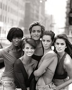 when you enter the word 'SUPERMODELS' in Google - this is the first photo that should appear...