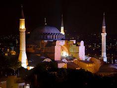 #Hagia Sophia Night Shot in #Istanbul, #Turkey