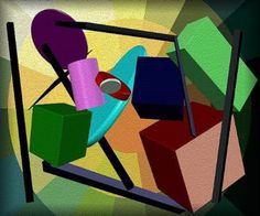 # 121 Abstract Art!-Original...