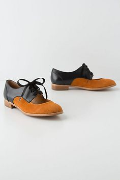 Olivia Cutout Oxfords #anthropologie:: these are out of control