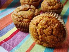 nutty {paleo} pumpkin muffins.