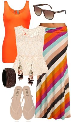 """simple summer fashion"" by cindy-scudder ❤ liked on Polyvore"