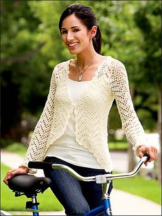 Ravelry: Chevron Lattice Sweater pattern by Joy M. Prescott - would have to buy the pattern in a book from Annie's Attic: Casual to Classic Fashions to Crochet or Crochet World Magazine, Spring 2014: Fun With Color in Thread