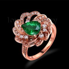 Save A Lot Size 6.25 7X9mm P... http://www.jeremiahjewelry.online/products/6-25-2015-7x9mm-pear-cut-emerald-natural-diamond-engagement-ring-18kt-rose-gold-wu267?utm_campaign=social_autopilot&utm_source=pin&utm_medium=pin @JeremiahJewelry.Online