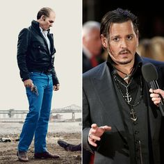 Pin for Later: The Top Celebrity Film Transformations of 2015 Johnny Depp as James Bulger in Black Mass
