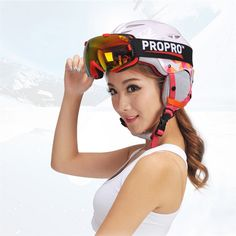 34.83$  Buy now - http://alip29.shopchina.info/go.php?t=32807317392 - PROPRO Brand Skiing Helmet Male Women Windproof Thermal Helmet Single Skiing Skateboard Protector Sport Protective Gear M L   34.83$ #magazineonlinewebsite