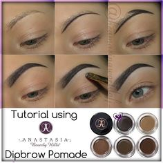 Brow Tutorial Using Anastasia Beverly Hills Dipbrow Pomade!