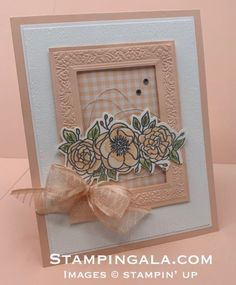 Stampin Gala - Julie Gilson, Stampin Up! Independent Demonstrator