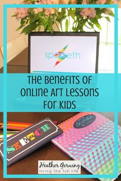 There are many benefits of online art lessons for kids. Sparketh has a great array or courses to all levels of learning. Homeschool Curriculum Reviews, Homeschool Books, Art Curriculum, Homeschooling, Art Activities, Toddler Activities, Art Books For Kids, Art Lessons For Kids, Online Art