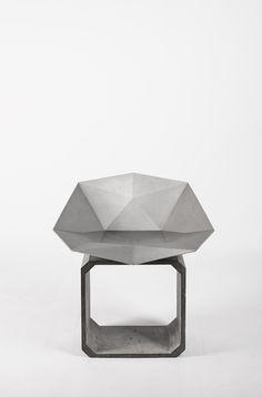 本土创造 #Bentudesign #concrete  20kg /55x65x60cm #chair