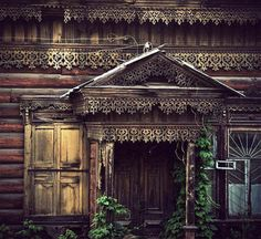 Old Russian home