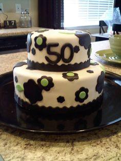 """S"" 50th Birthday Cake!"