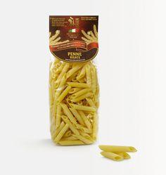 #penne rigate, #pasta di gragnano, ed il suo nuovo #packaging. Progetto per la nuova linea di prodotti @Rian eccellenze alimentari italiane, realizzato dallo #studio grafico @Lagartixa Design
