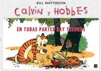 Calvin i Hobbes. En todas partes hay tesoros.