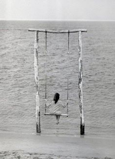 I would have been thrilled w this swing and view when I was a kid. Come to think of it, I would be thrilled w it now !!