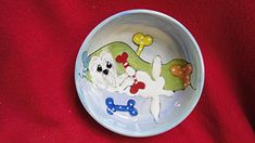 Pet Bowl 10 Dog Bowl for Food or Water Personalized at no Charge Signed by Artist Debby Carman >>> Read more  at the image link.
