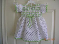 Free Crochet Patterns: Free Crochet Baby Dresses Patterns