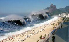 Formação de um Tsunami